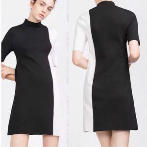 Zara NWT color block Dress